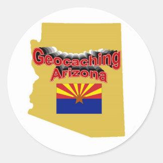Geocaching Arizona Sticker