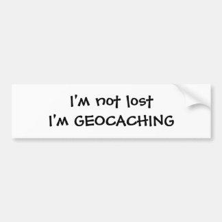 Geocaching Bumper Sticker