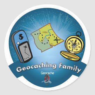Geocaching Family Sticker