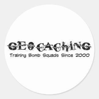 Geocaching...Training Bomb Squads Stickers