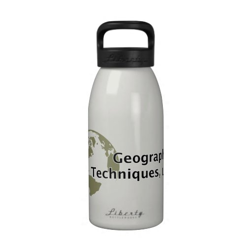 Geographic Techniques Water Bottle