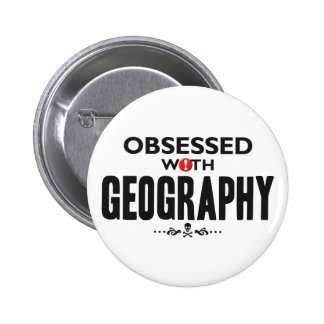 Geography Obsessed Buttons