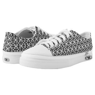 Geometric 33 (Customizable Color) Printed Shoes