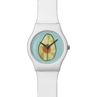 Geometric Avocado Watch