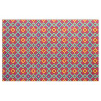 Geometric background fabric