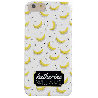 Geometric Bananas | Add Your Name Barely There iPhone 6 Plus Case
