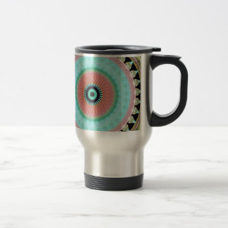 Geometric cup of stainless steel trip stainless steel travel mug