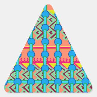 Geometric Design Triangle Sticker