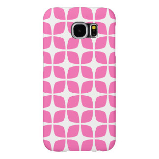 Geometric Galaxy S6 Case / Hot Pink