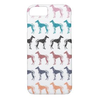 Geometric Greyhounds iPhone Case