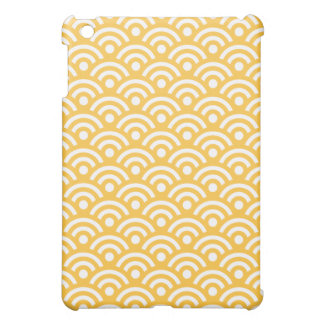 Geometric Ipad Mini Case in Solar Yellow