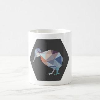 Geometric NZ Kiwi Bird Mug