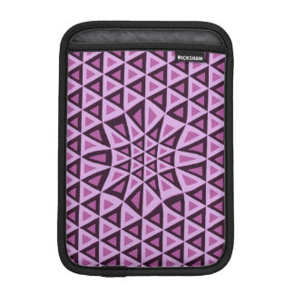 Geometric Pink Triangles iPad sleeve fashion girls