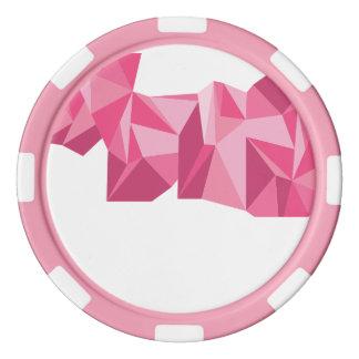 Geometric Poker Chips