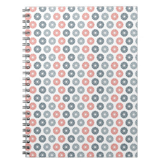 Geometric Shapes Spiral Notebook