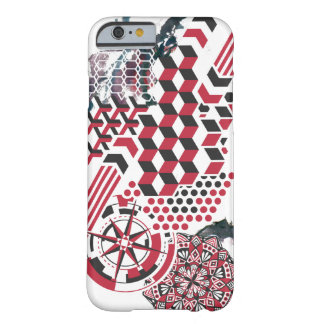 Geometric Splatter Minimal Palette for iPhone 6/6s Barely There iPhone 6 Case