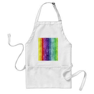Geometric Stripes Watercolor Aprons