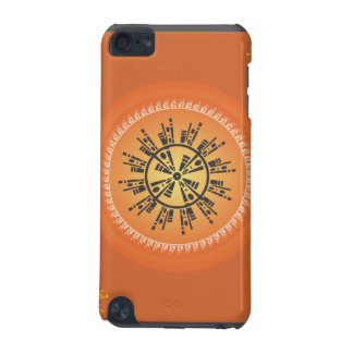 Geometric Sun I-Pod Sun Case iPod Touch 5G Cases