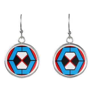Geometric Vibrant Earrings