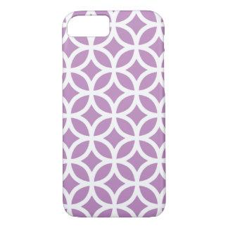 Geometric Violet iPhone 7 case