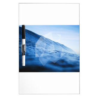Geometric Wave Dry Erase Board