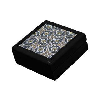 Geometrical pattern Square Tile Gift Box