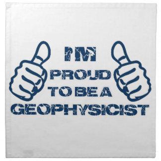 Geophysicist Design Napkin