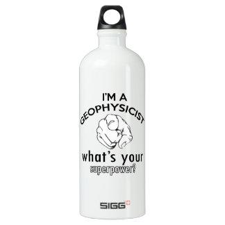 geophysicist design water bottle
