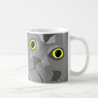 George abstract mug design