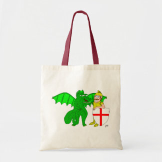 George and the Dragon Tote Bag