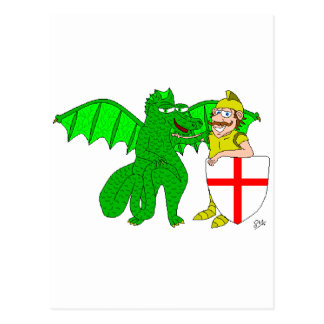 George and the Dragon Post Cards