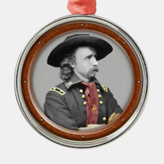 George Armstrong Custer Christmas Ornament