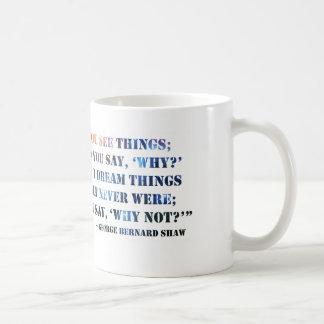 George Bernard Shaw Motivational Quote Mug 11oz