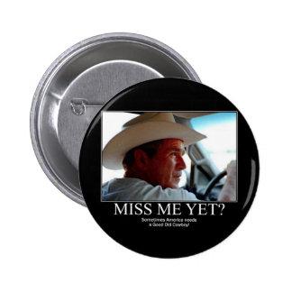 George Bush 6 Cm Round Badge