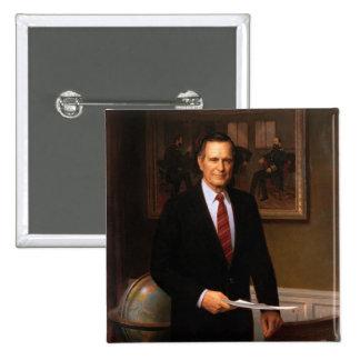 George Bush Pinback Button