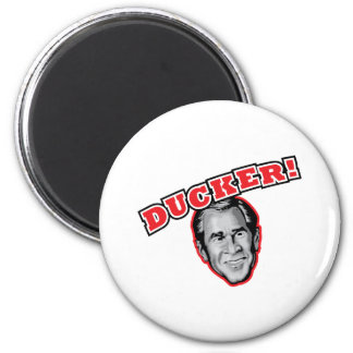 George Bush Is A Ducker - Reporter Shoe Attack! Magnet
