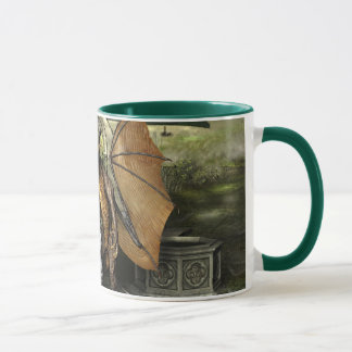 George & Dragon Mug: Wrap Around Image Mug