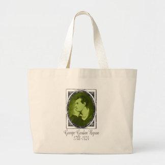 George Gordon Byron Large Tote Bag