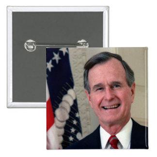 George H Bush Buttons