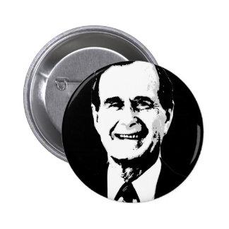 George H.W. Bush Gear Pinback Button