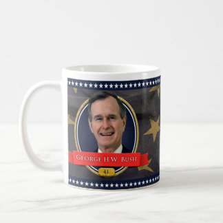 George H. W. Bush Historical Mug