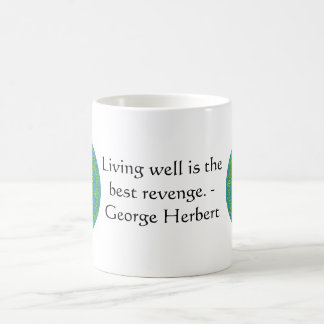 George Herbert Quote With Wonderful Design Coffee Mug