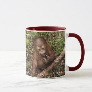 George Orangutan Mud Pies Dirty Mouth