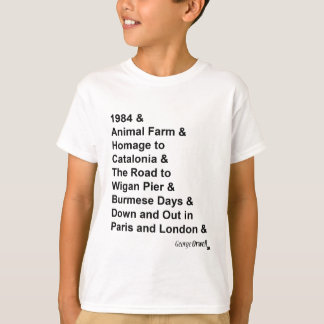 George Orwell Black T-Shirt