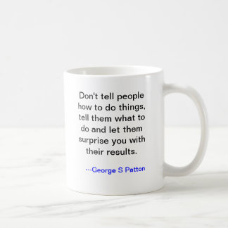 George Patton Mug