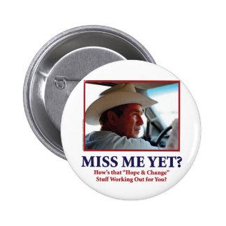 George W. Bush 6 Cm Round Badge