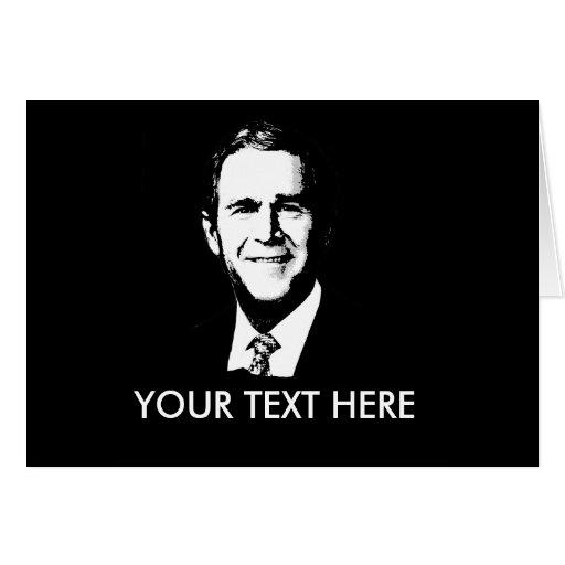George W Bush Gear Card
