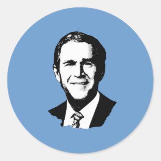 George W Bush Gear Stickers