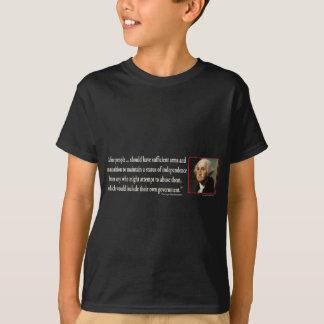 George Washing on Gun Control T-Shirt