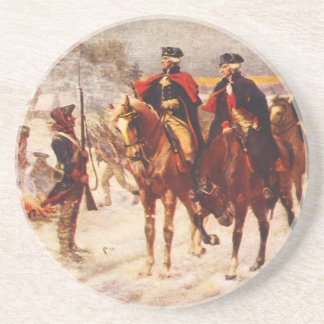 George Washington and Lafayette at Valley Forge Coaster
